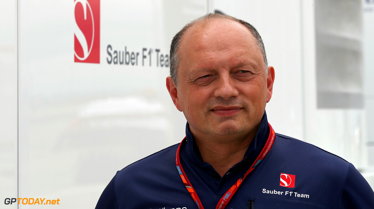Hungarian GP Thursday 27/07/17 Frederic Vasseur (FRA) Managing Director & CEO of Sauber Motorsport AG, Team Principal of the Sauber F1 Team. Hungaroring.  Hungarian GP Thursday 27/07/17 Jean-Francois Galeron Budapest Hungary  F1 Formula One 2017 Portraits Fr?d?ric Vasseur Sauber