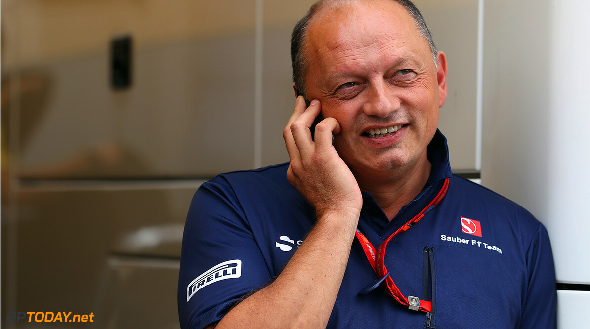 Hungarian GP Thursday 27/07/17 Frederic Vasseur (FRA) Managing Director & CEO of Sauber Motorsport AG, Team Principal of the Sauber F1 Team. Hungaroring Circuit.  Hungarian GP Thursday 27/07/17 Jad Sherif                       Budapest Hungary  F1 Formula 1 One 2017 Portraits Fr?d?ric Vasseur Sauber