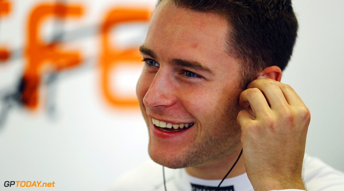 Silverstone, Northamptonshire, UK. Friday 28 July 2017. Stoffel Vandoorne, McLaren. Photo: Steven Tee/McLaren ref: Digital Image _R3I2254  Steven Tee    f1 formula 1 formula one gp grand prix Portrait