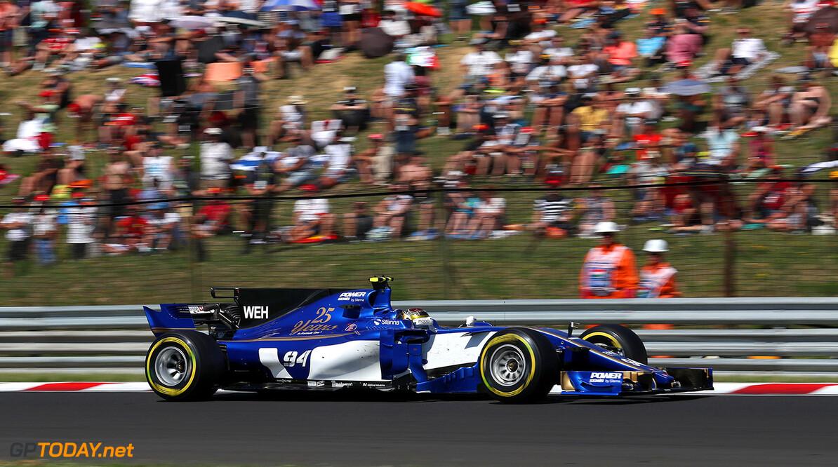 Hungarian GP Race 30/07/17 Pascal Wehrlein (D), Sauber F1 Team. Hungaroring.  Hungarian GP Race 30/07/17 Jean-Francois Galeron Budapest Hungary  F1 Formula One 2017 Action Wehrlein Sauber