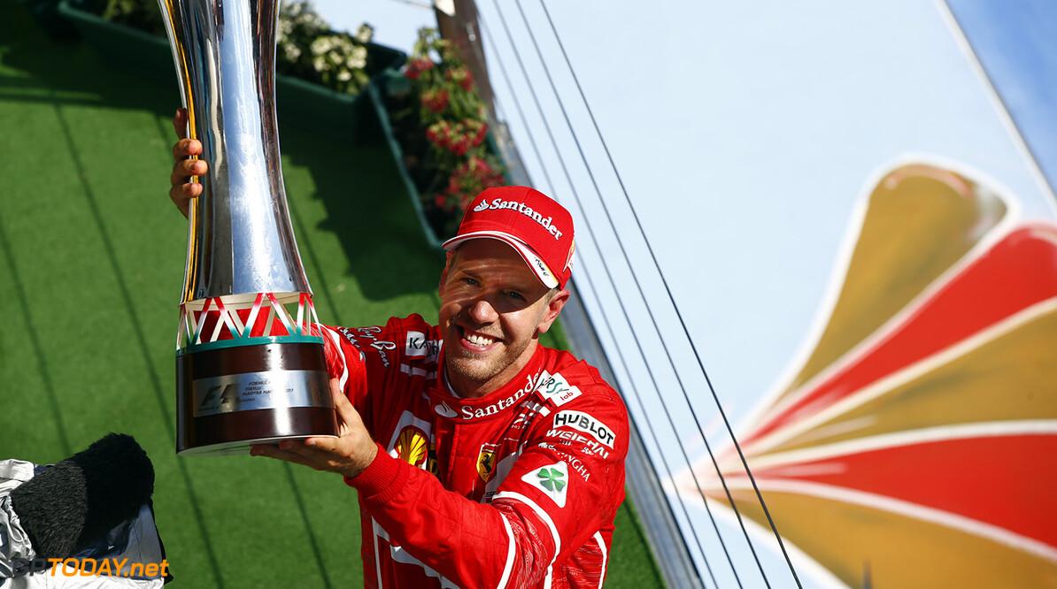 Domineren met Ferrari het doel van Sebastian Vettel