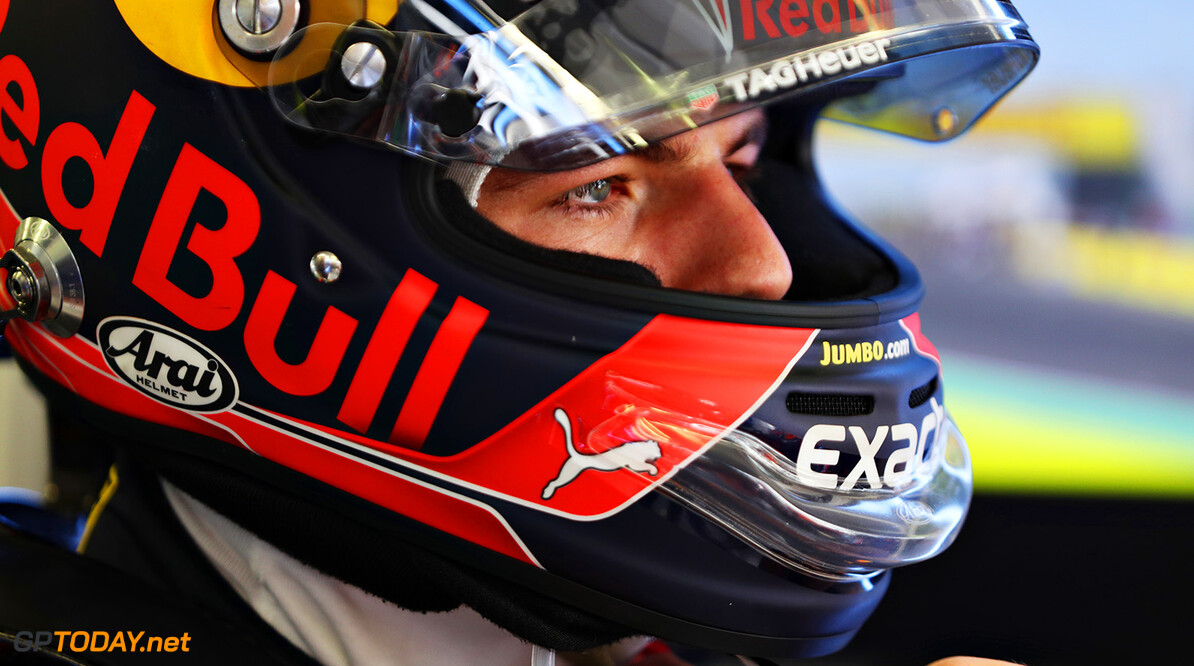 BUDAPEST, HUNGARY - JULY 30:  Max Verstappen of Netherlands and Red Bull Racing prepares to drive in the garage before the Formula One Grand Prix of Hungary at Hungaroring on July 30, 2017 in Budapest, Hungary.  (Photo by Mark Thompson/Getty Images) // Getty Images / Red Bull Content Pool  // P-20170730-01462 // Usage for editorial use only // Please go to www.redbullcontentpool.com for further information. //  F1 Grand Prix of Hungary  Budapest Hungary  P-20170730-01462