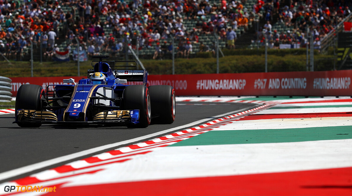 Hungarian GP Race 30/07/17 Marcus Ericsson (SWE), Sauber F1 Team.  Hungaroring Circuit.  Hungarian GP Race 30/07/17 Jad Sherif                       Budapest Hungary  F1 Formula 1 One 2017 Action Ericsson Sauber