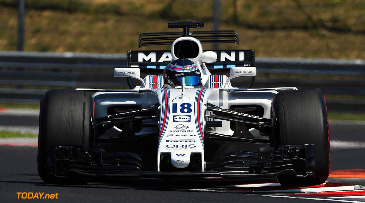 Williams experimenteert bij de test op de Hungaroring