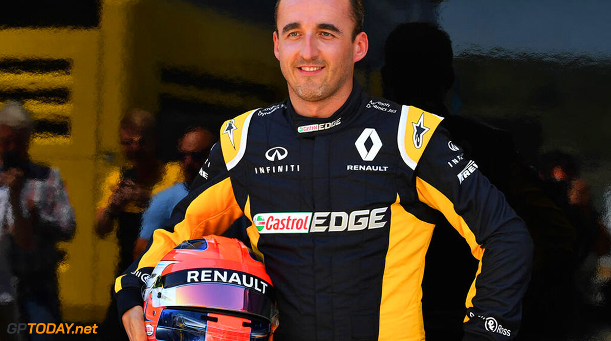 Formula One Testing www.sutton-images.com  Robert Kubica (POL) Renault Sport F1 Team at Formula One Testing, Day One, Hungaroring, Hungary, Tuesday 1 August 2017. Hungarian F1 Testing  Hungaroring Hungary  F1 Formula 1 Test Hungarian portrait