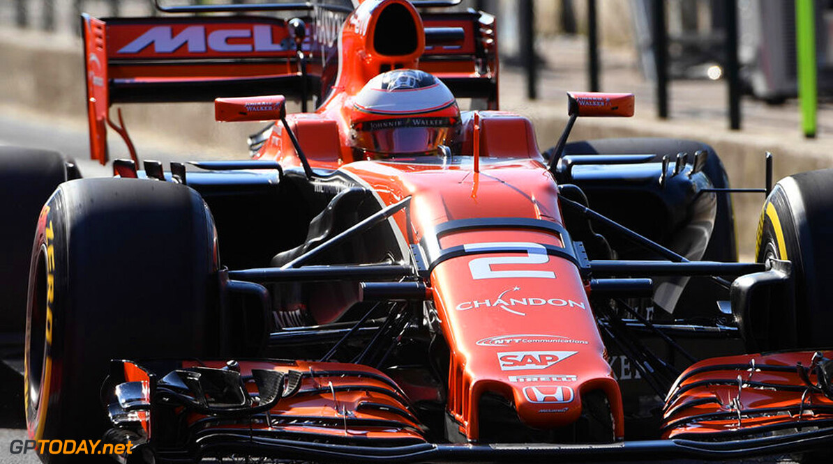 Formula One Testing www.sutton-images.com  Stoffel Vandoorne (BEL) McLaren MCL32 at Formula One Testing, Day One, Hungaroring, Hungary, Tuesday 1 August 2017. Hungarian F1 Testing  Hungaroring Hungary  F1 Formula 1 Test Hungarian action