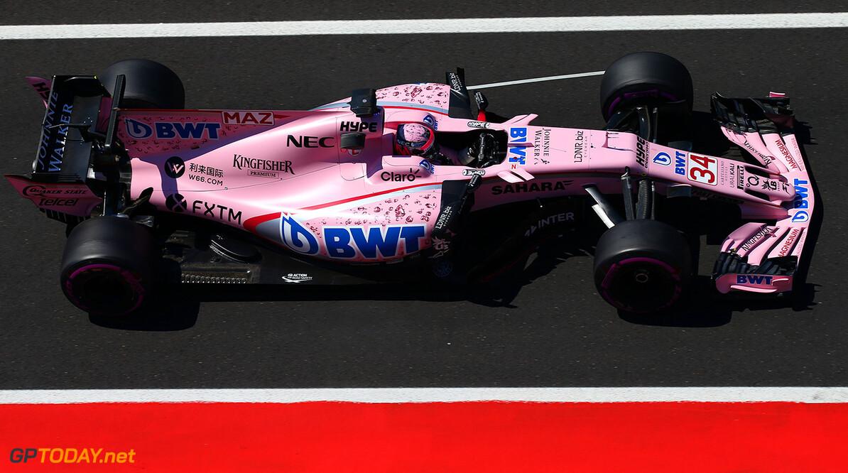 Force India doet bij bandentest een beroep op Mazepin