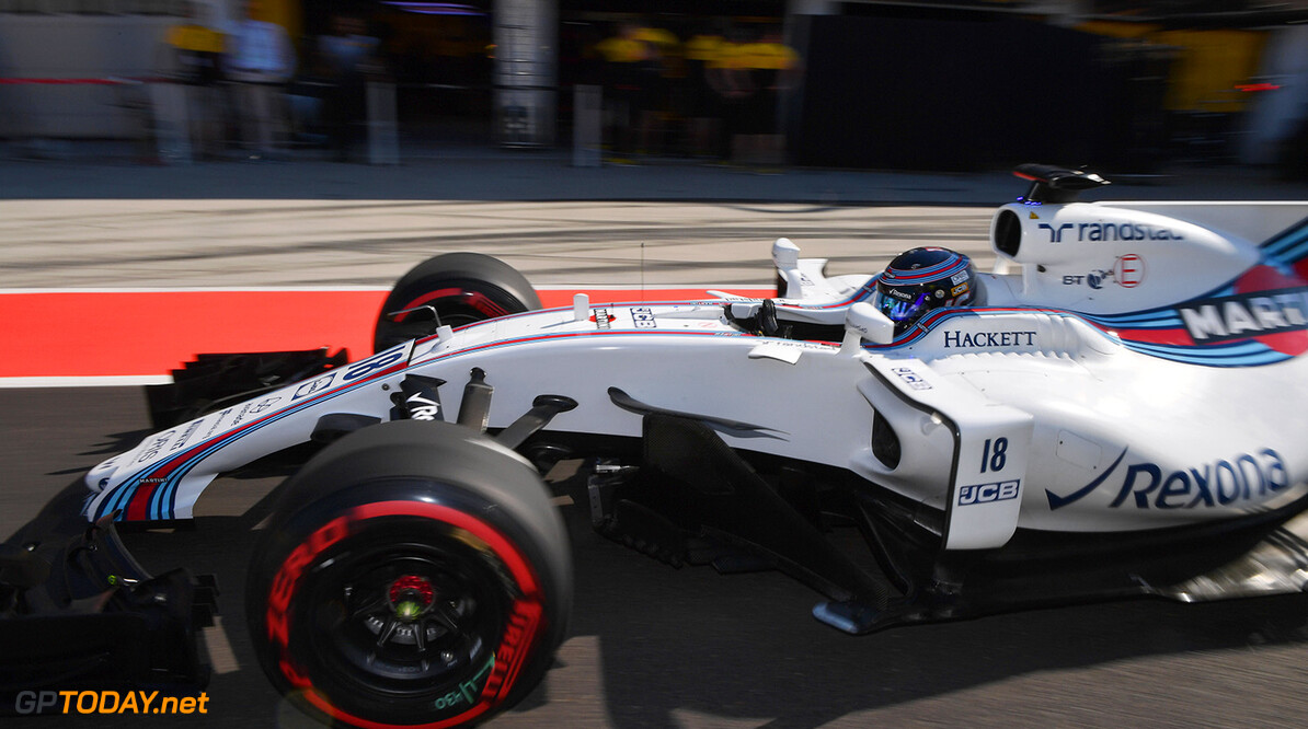 Formula One Testing www.sutton-images.com  Lance Stroll (CDN) Williams FW40 at Formula One Testing, Day One, Hungaroring, Hungary, Tuesday 1 August 2017. Hungarian F1 Testing  Hungaroring Hungary  F1 Formula 1 Test Hungarian action blur