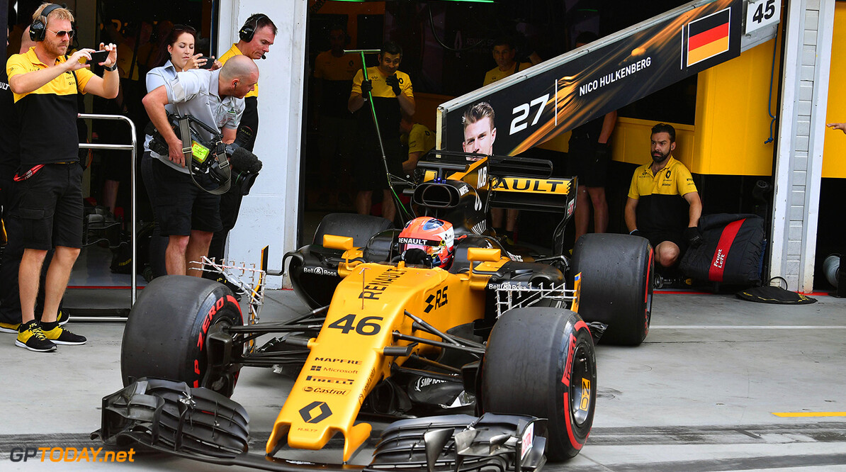 Formula One Testing www.sutton-images.com  Robert Kubica (POL) Renault Sport F1 Team RS17 at Formula One Testing, Day Two, Hungaroring, Hungary, Wednesday 2 August 2017. Hungarian F1 Testing  Hungaroring Hungary  F1 Formula 1 Test Hungarian action