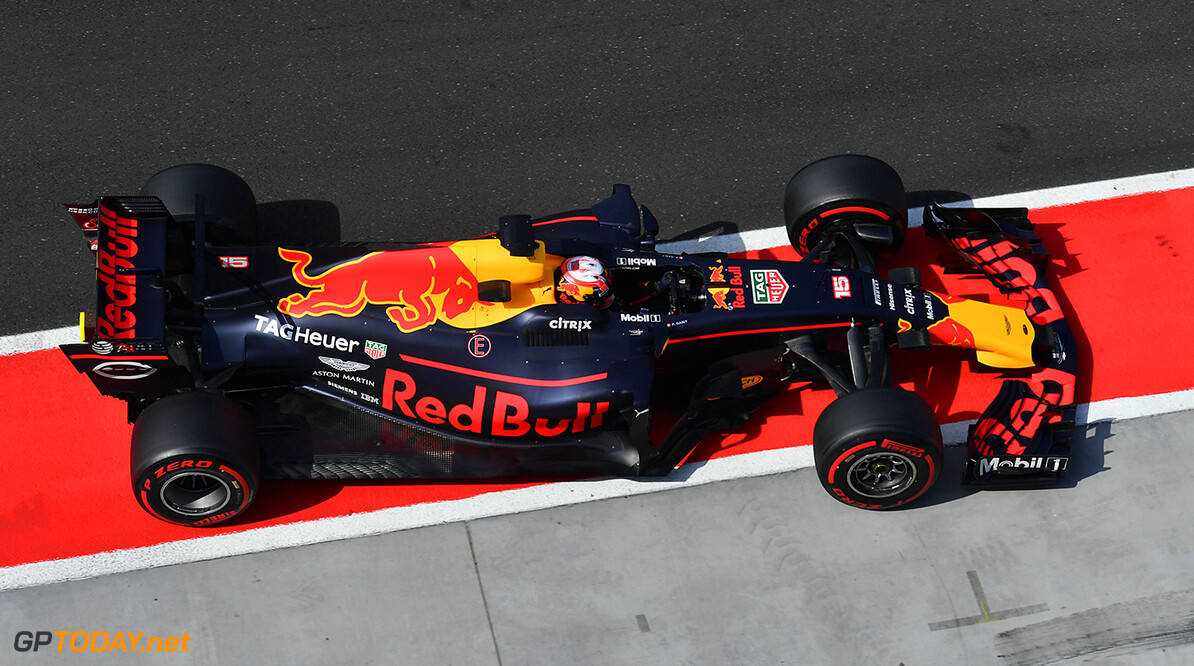 Formula One Testing www.sutton-images.com  Pierre Gasly (FRA) Red Bull Racing RB13 at Formula One Testing, Day Two, Hungaroring, Hungary, Wednesday 2 August 2017. Hungarian F1 Testing  Hungaroring Hungary  F1 Formula 1 Test Hungarian action