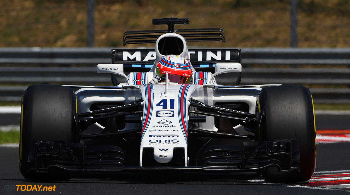 Formula One Testing www.sutton-images.com  Luca Ghiotto (ITA) Williams FW40 at Formula One Testing, Day Two, Hungaroring, Hungary, Wednesday 2 August 2017. Hungarian F1 Testing  Hungaroring Hungary  F1 Formula 1 Test Hungarian action