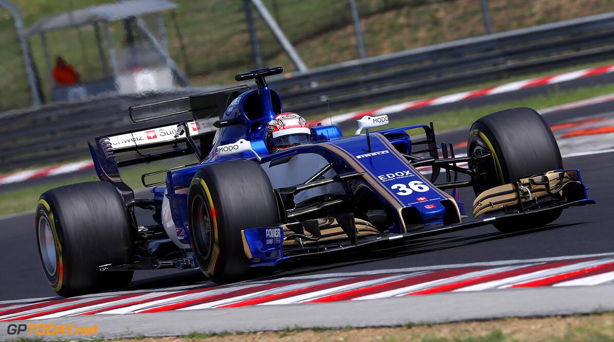 Hungary F1 test 1-2/08/17 Nobuharu Matsushita (JAP) Sauber F1 Team.  Hungaroring Circuit.  Hungary F1 test 1-2/08/17 Jad Sherif                Budapest Hungary  F1 Formula One testing F1 Formula One testing action Matsushita Sauber