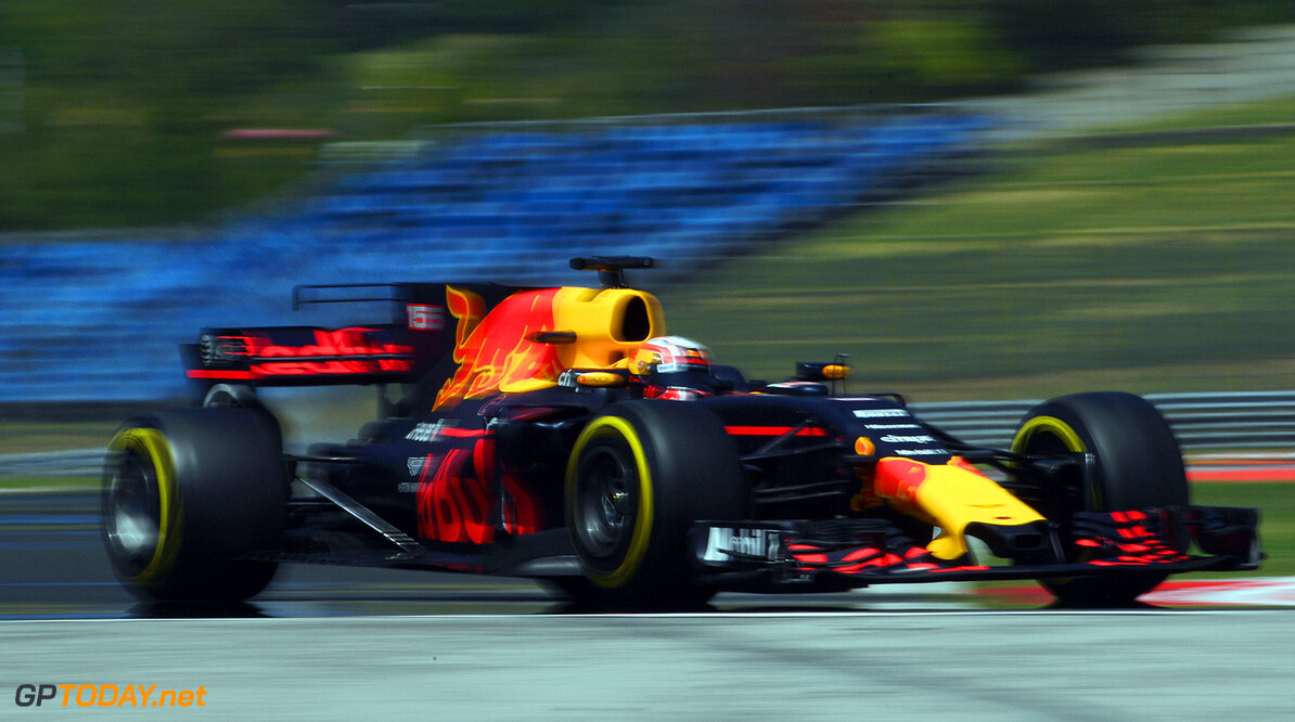 Formula One Testing www.sutton-images.com  Pierre Gasly (FRA) Red Bull Racing RB13 at Formula One Testing, Day Two, Hungaroring, Hungary, Wednesday 2 August 2017. Hungarian F1 Testing  Hungaroring Hungary  F1 Formula 1 Test Hungarian