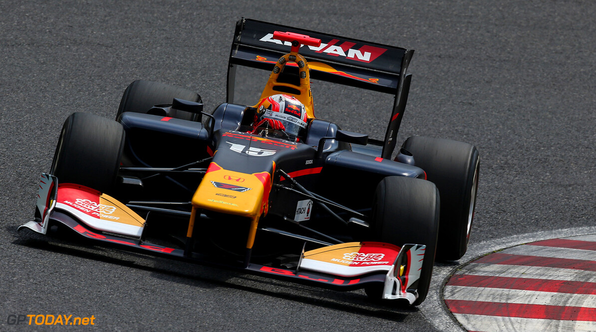 First round of the Japanese Super Formula Championship at Suzuka. Pierre Gasly #15 Team Mugen. // Dutch Photo Agency/Red Bull Content Pool // P-20170422-00341 // Usage for editorial use only // Please go to www.redbullcontentpool.com for further information. //  Pierre Gasly  Suzuka Japan  P-20170422-00341