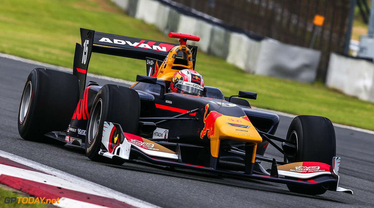 OYAMA,JAPAN,8.JUL.17 - MOTORSPORTS, RED BULL JUNIOR TEAM - Japanese Super Formula Championship, Fuji International Speedway. Image shows Pierre Gasly (FRA). // Dutch Photo Agency/Red Bull Content Pool // P-20170708-01003 // Usage for editorial use only // Please go to www.redbullcontentpool.com for further information. //  Pierre Gasly  Fuji Japan  P-20170708-01003