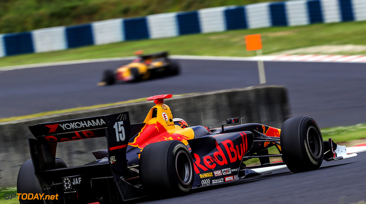 Okayama,JAPAN,27.MAY.17 - MOTORSPORTS, RED BULL JUNIOR TEAM - Japanese Super Formula Championship, Okayama International Circuit. Image shows Pierre Gasly (FRA). // Dutch Photo Agency/Red Bull Content Pool // P-20170527-00903 // Usage for editorial use only // Please go to www.redbullcontentpool.com for further information. //  Pierre Gasly T.OGASAWARA Okayama-shi Japan  P-20170527-00903