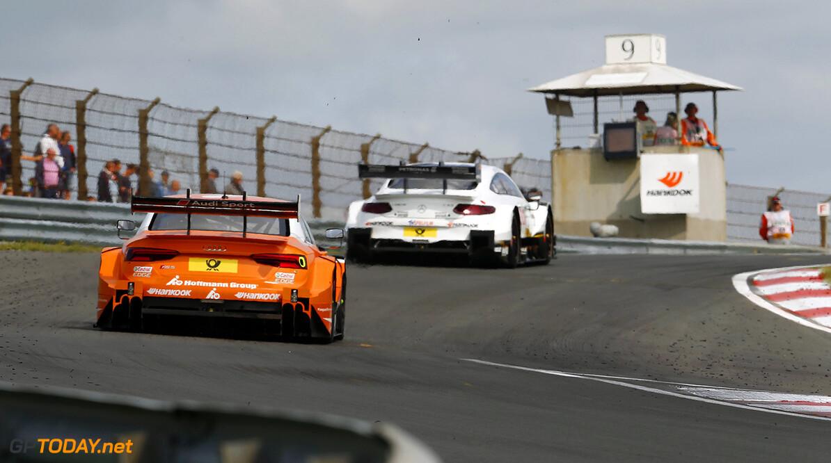 DTM race in Zandvoort #53 Jamie Green, Audi RS5 DTM, #3 Paul Di Resta, Mercedes-AMG C 63 DTM Motorsports: DTM race in Zandvoort HZ Zandvoort Netherlands  Motorsport Sport DTM Zandvoort Circuit Zandvoort