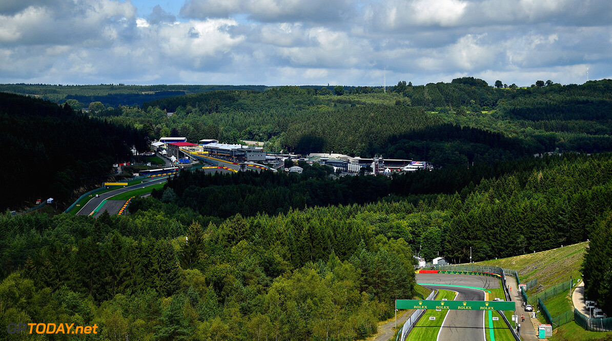 SPA, BELGIUM - AUGUST 24:  A general view over the circuit during previews ahead of the Formula One Grand Prix of Belgium at Circuit de Spa-Francorchamps on August 24, 2017 in Spa, Belgium.  (Photo by Dan Mullan/Getty Images) // Getty Images / Red Bull Content Pool  // P-20170824-00487 // Usage for editorial use only // Please go to www.redbullcontentpool.com for further information. //  F1 Grand Prix of Belgium - Previews Dan Mullan Spa Belgium  P-20170824-00487