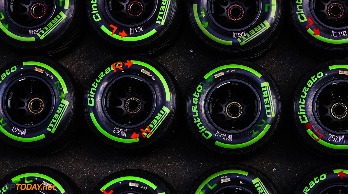 www.sutton-images.com  Pirelli tyres at Formula One World Championship, Rd12, Belgian Grand Prix, Preparations, Spa Francorchamps, Belgium, Thursday 24 August 2017.      F2 podium race