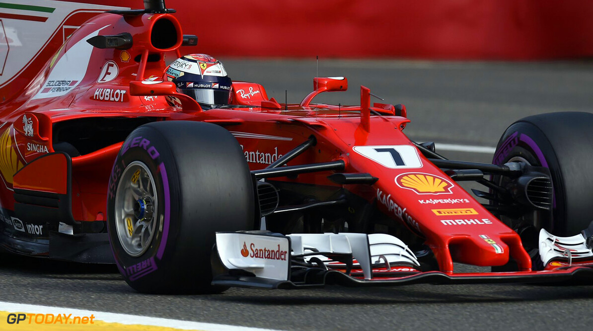 Kimi Raikkonen staat in 2018 onder curatele bij Ferrari