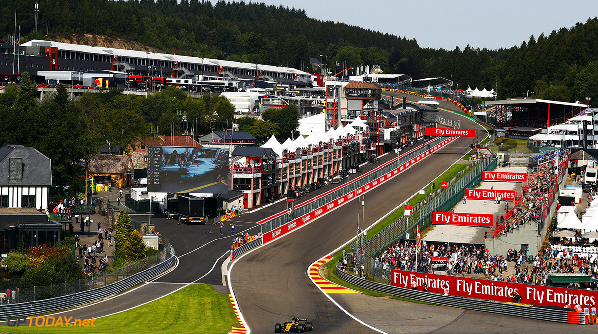 Spa Francorchamps, Belgium.  Friday 25 August 2017. World Copyright: Sam Bloxham/LAT Images  ref: Digital Image _J6I7851      f1 formula 1 formula one