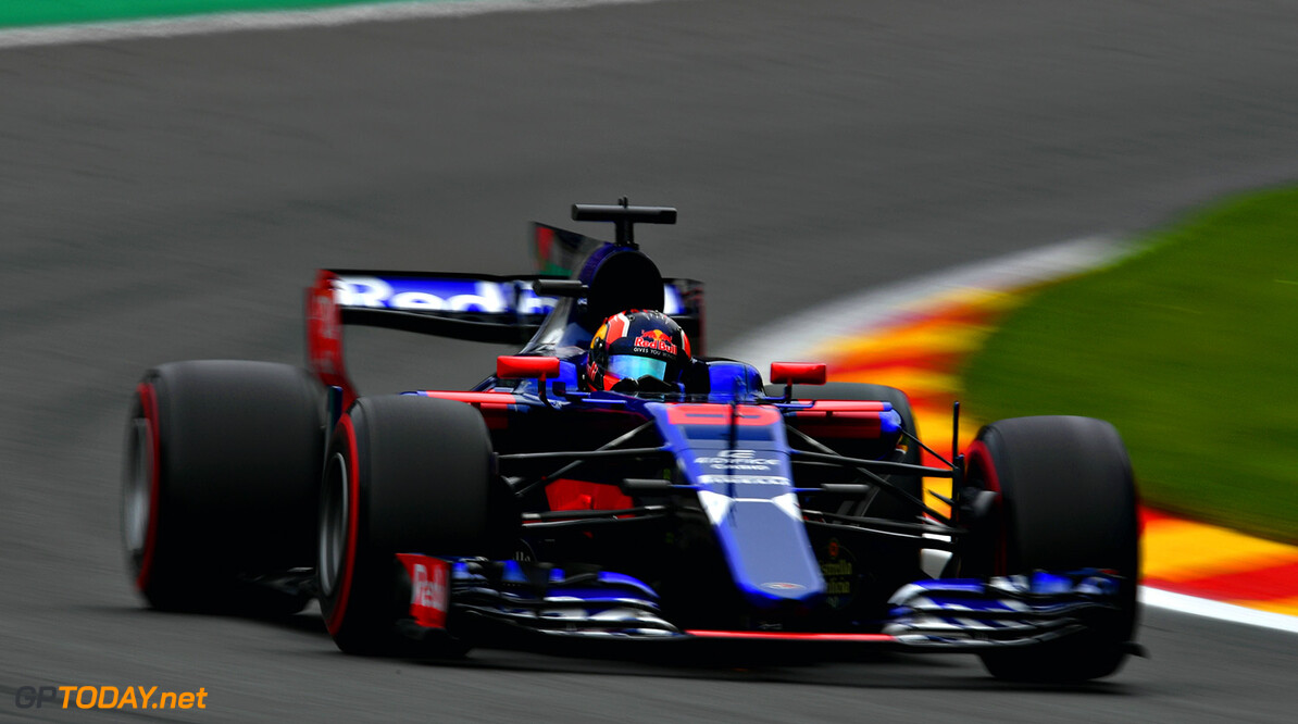 SPA, BELGIUM - AUGUST 25: Daniil Kvyat of Russia driving the (26) Scuderia Toro Rosso STR12 on track during practice for the Formula One Grand Prix of Belgium at Circuit de Spa-Francorchamps on August 25, 2017 in Spa, Belgium.  (Photo by Dan Mullan/Getty Images) // Getty Images / Red Bull Content Pool  // P-20170825-01102 // Usage for editorial use only // Please go to www.redbullcontentpool.com for further information. //  F1 Grand Prix of Belgium - Practice Dan Mullan Spa Belgium  P-20170825-01102