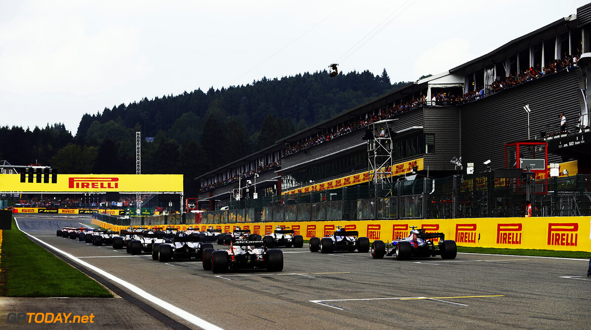 Spa Francorchamps, Belgium.  Sunday 27 August 2017. World Copyright: Zak Mauger/LAT Images  ref: Digital Image _56I3634  Zak Mauger    f1 formula 1 formula one