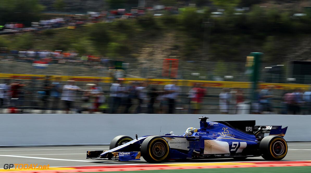 Belgian GP Race 27/08/17 Marcus Ericsson (SWE), Sauber F1 Team.  Circuit Spa-Francorchamps.  Belgian GP Race 27/08/17 Jad Sherif                       Spa-Francorchamps Belgium  F1 Formula 1 One 2017 Action Ericsson Sauber