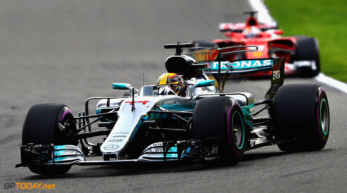 Hamilton on top after FP1 in Italy