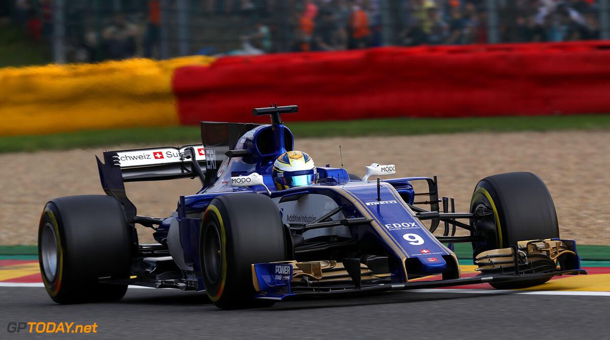 Belgian GP Race 27/08/17 Marcus Ericsson (SWE), Sauber F1 Team. Circuit de Spa-Francorchamps.  Belgian GP Race 27/08/17 Jean-Francois Galeron Francorchamps Belgium  F1 Formula One 2017 Action Ericsson Sauber
