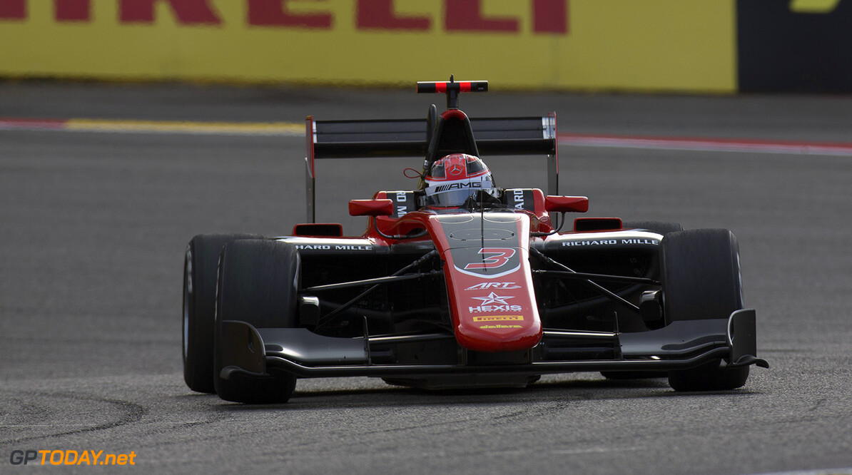 2017 GP3 Series Round 5.  Spa-Francorchamps, Spa, Belgium. Saturday 26 August 2017. George Russell (GBR, ART Grand Prix). Photo: Alastair Staley/GP3 Series Media Service. ref: Digital Image _L5R5229   Alastair Staley    Race One 1