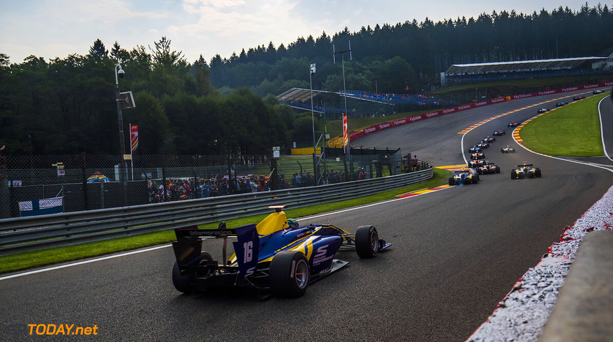 Spa Francorchamps, Belgium. 