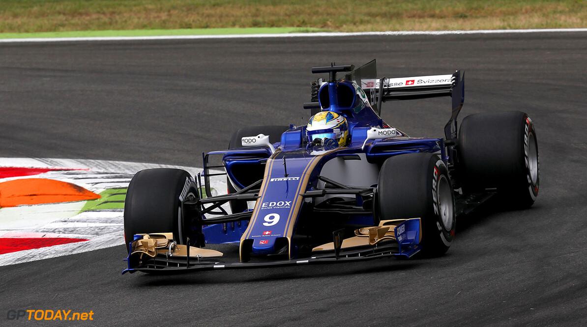 Italian GP Friday 01/09/17 Marcus Ericsson (SWE), Sauber F1 Team. Autodromo di Monza.  Italian GP Friday 01/09/17 Jean-Francois Galeron Monza Italy  F1 Formula One 2017 Action Ericsson Sauber
