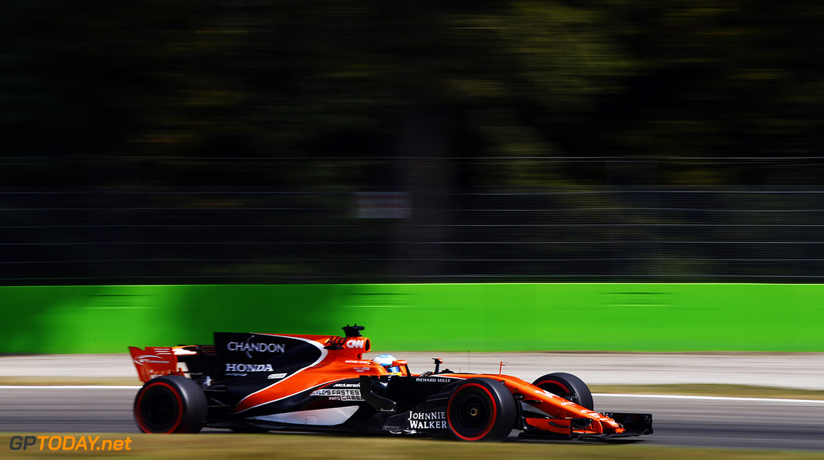 Autodromo Nazionale di Monza, Italy. Friday 1 September 2017. Fernando Alonso, McLaren MCL32 Honda. Photo: Andrew Hone/McLaren ref: Digital Image _ONZ1659      f1 formula 1 formula one gp grand prix Action