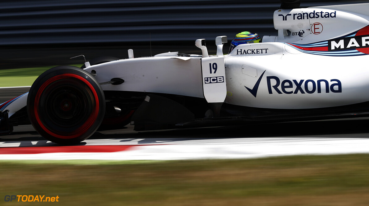 Williams top soaking wet FP3 session