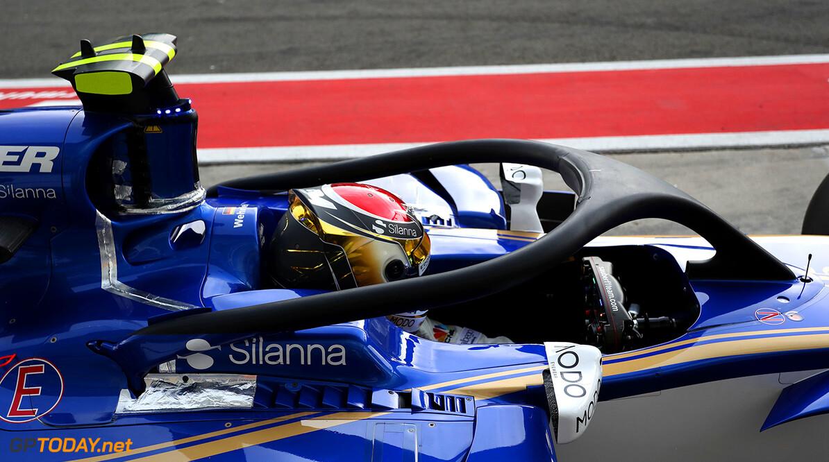Italian GP Friday 01/09/17 Pascal Wehrlein (D), Sauber F1 Team. Autodromo di Monza.  Italian GP Friday 01/09/17 Jean-Francois Galeron Monza Italy  F1 Formula One 2017 Halo Pits Wehrlein Sauber