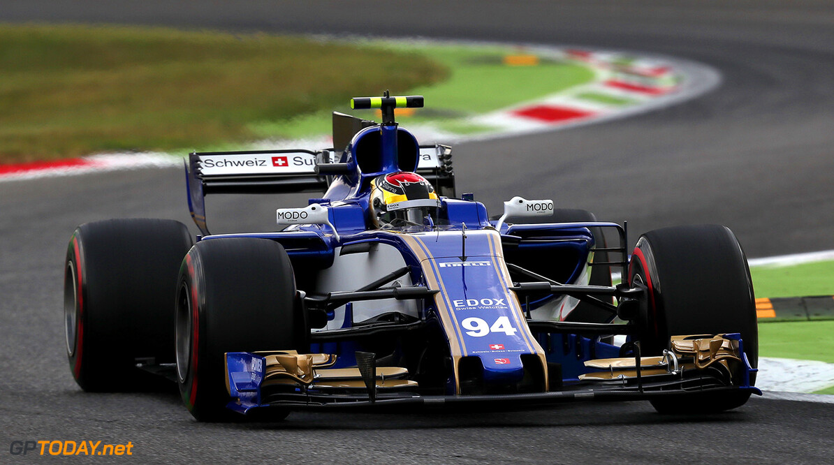 Italian GP Friday 01/09/17 Pascal Wehrlein (D), Sauber F1 Team. Autodromo di Monza.  Italian GP Friday 01/09/17 Jean-Francois Galeron Monza Italy  F1 Formula One 2017 Action Wehrlein Sauber