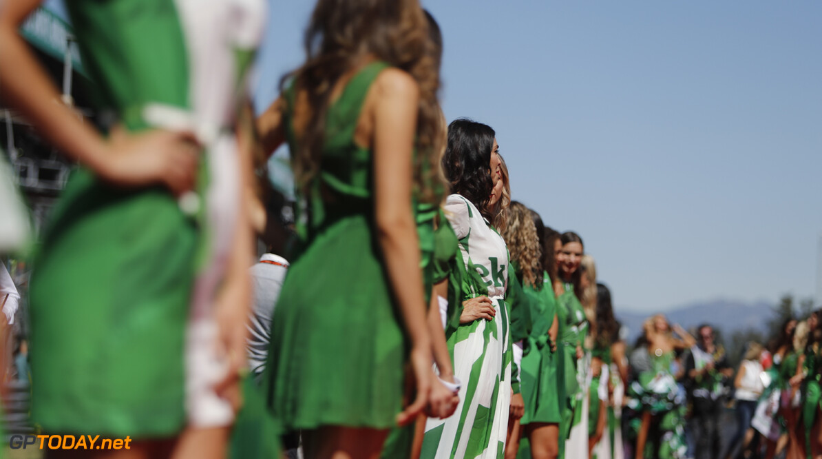Grid girls will not be used in 2018