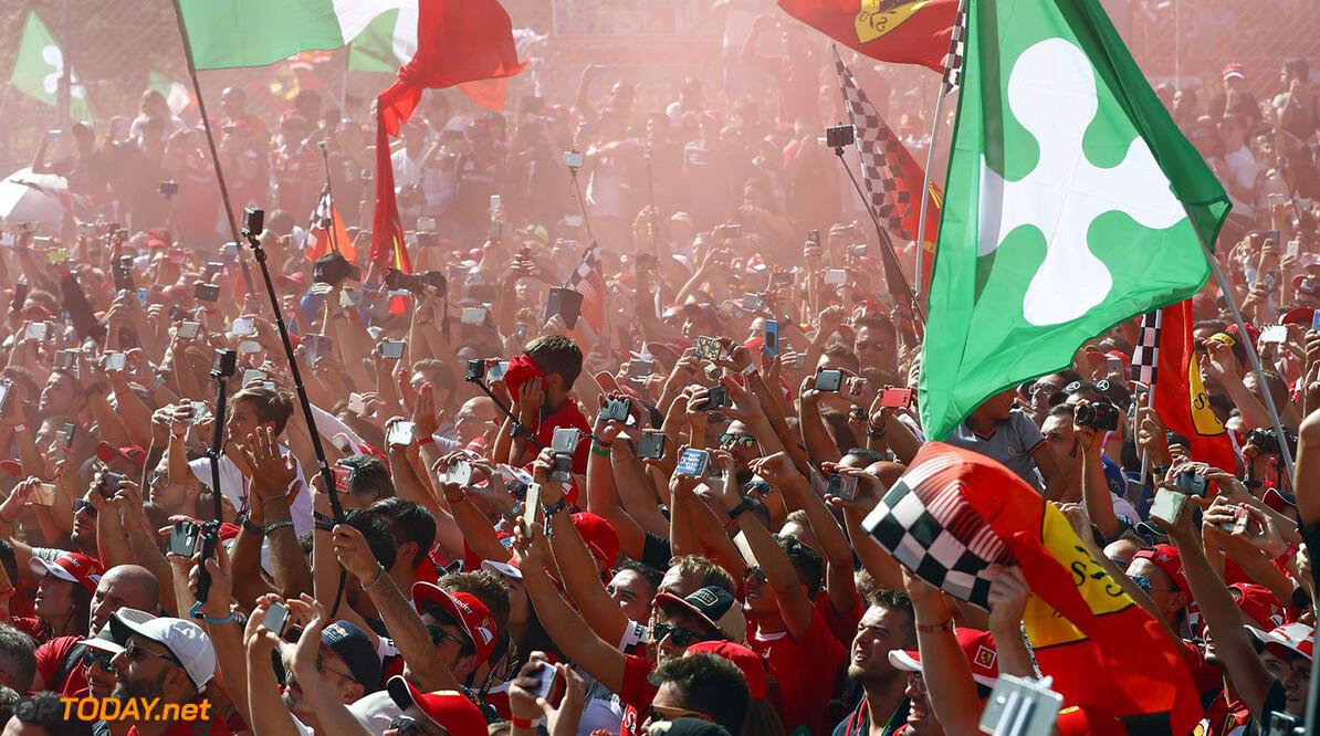"""Vettel: """"Hoop dat ons succes ervoor kan zorgen dat Monza zijn race behoudt"""""""