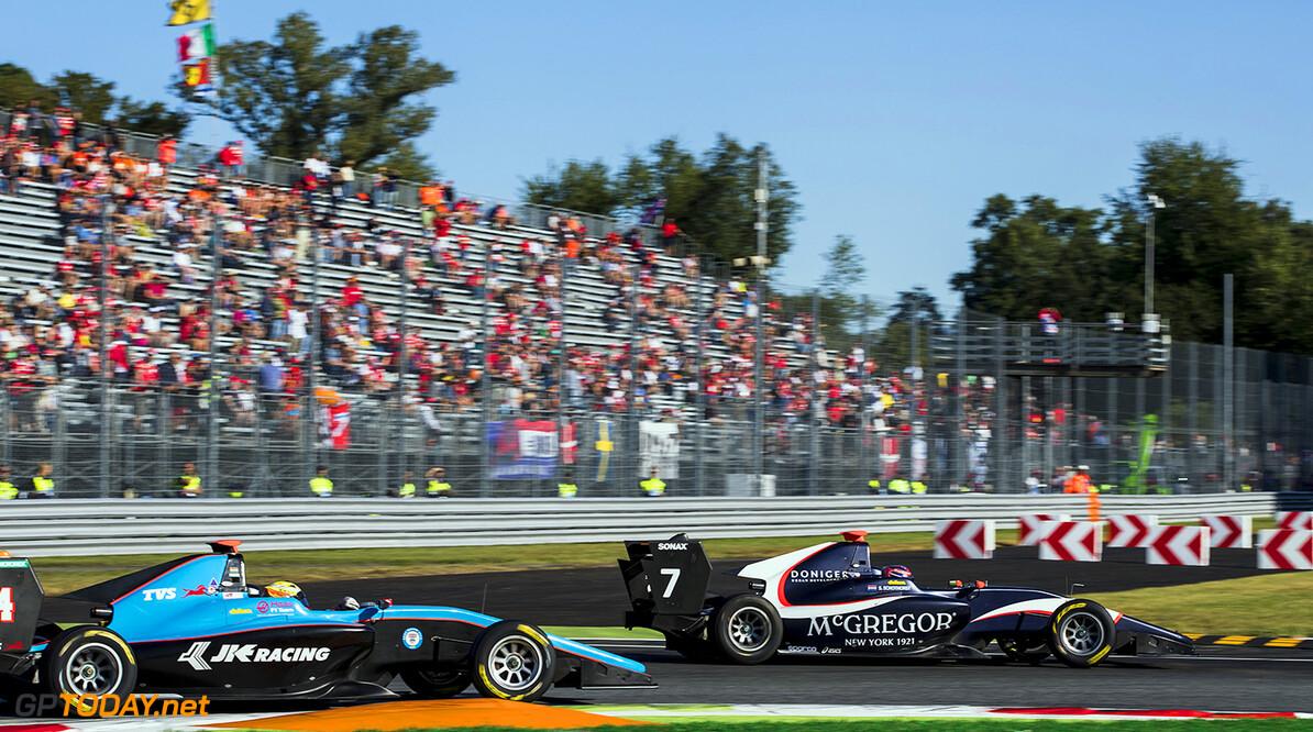2017 GP3 Series Round 6.  Autodromo Nazionale di Monza, Monza, Italy. Sunday 3 September 2017. Steijn Schothorst (NED, Arden International).  Photo: Zak Mauger/GP3 Series Media Service. ref: Digital Image _56I8773   Zak Mauger    Race One 1 action