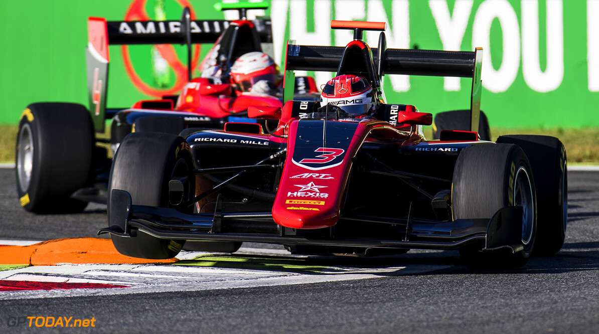 2017 GP3 Series Round 6.  Autodromo Nazionale di Monza, Monza, Italy. Sunday 3 September 2017. George Russell (GBR, ART Grand Prix).  Photo: Zak Mauger/GP3 Series Media Service. ref: Digital Image _T9I8953   Zak Mauger    Race One 1 action