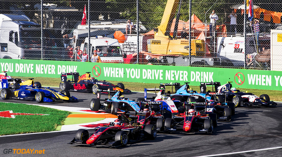 2017 GP3 Series Round 6. 