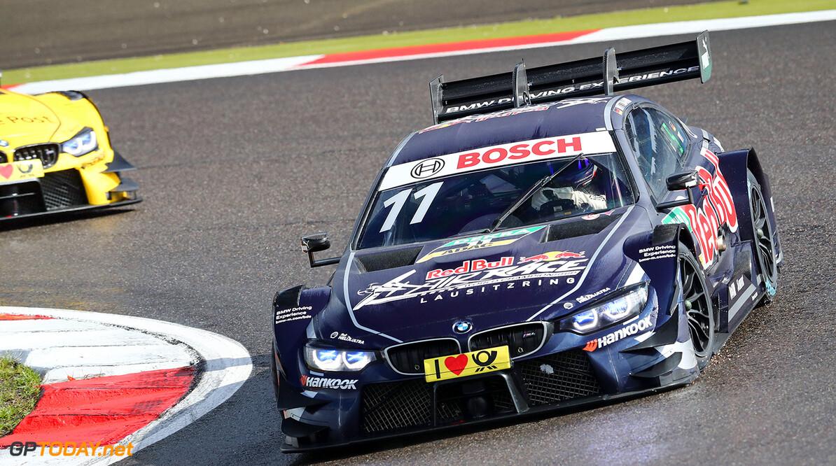 #11 Marco Wittmann, BMW M4 DTM Motorsports: DTM race Nuerburgring Gruppe C / Hoch Zwei    Aktion Aktion action Fahraufnahme Fahrszene Rennszene VersandPartnerDTM VersandPartnerStandard akrapovic fahrend race action