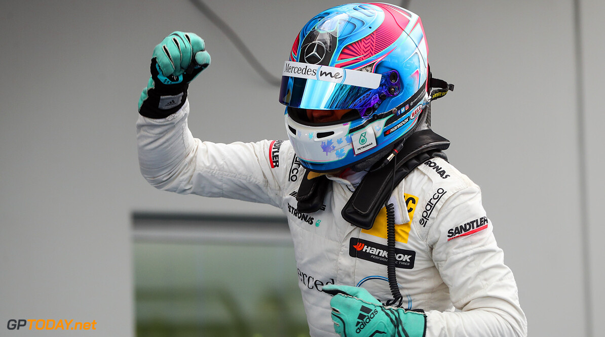 #6 Robert Wickens, Mercedes-AMG C 63 DTM Motorsports: DTM race Nuerburgring Gruppe C / Hoch Zwei    Freude VersandPartnerDTM VersandPartnerStandard driver fahrer portrait
