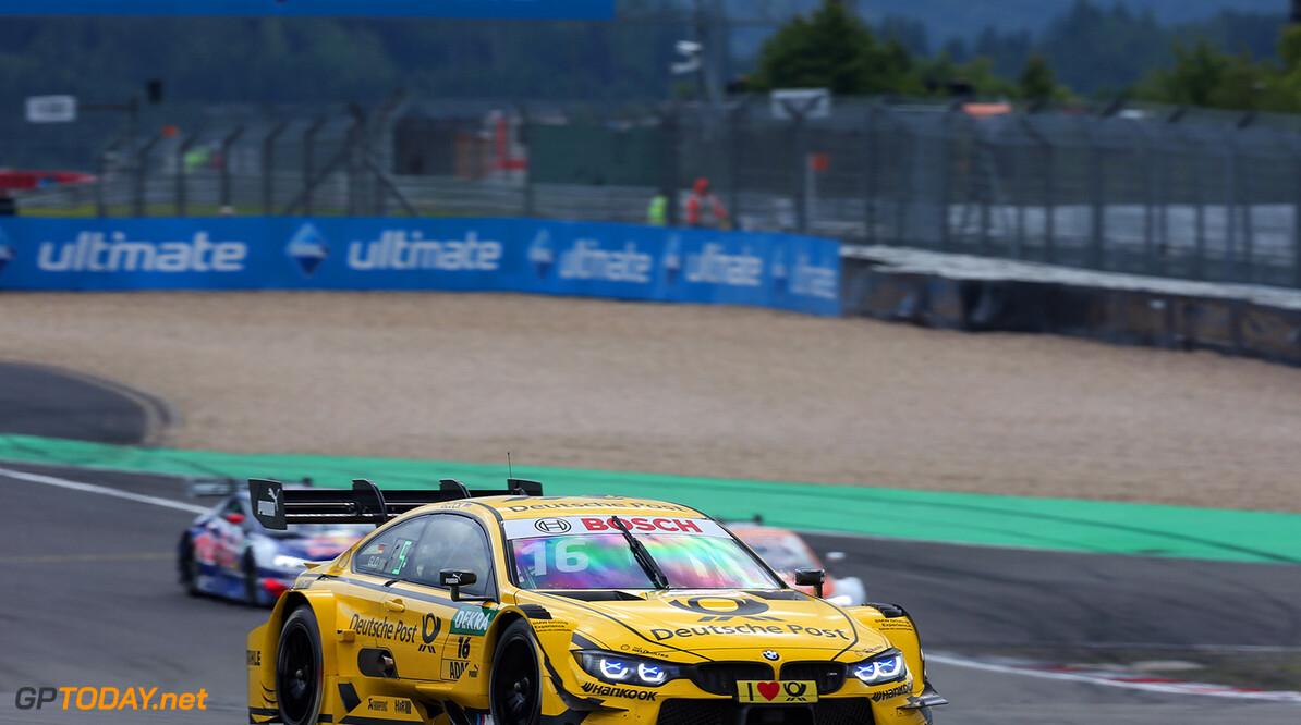 #16 Timo Glock, BMW M4 DTM Motorsports: DTM race Nuerburgring Gruppe C / Hoch Zwei    Aktion action Fahraufnahme Fahrszene Motorsport DTM Rennen race Rennszene VersandPartnerDTM VersandPartnerStandard race action