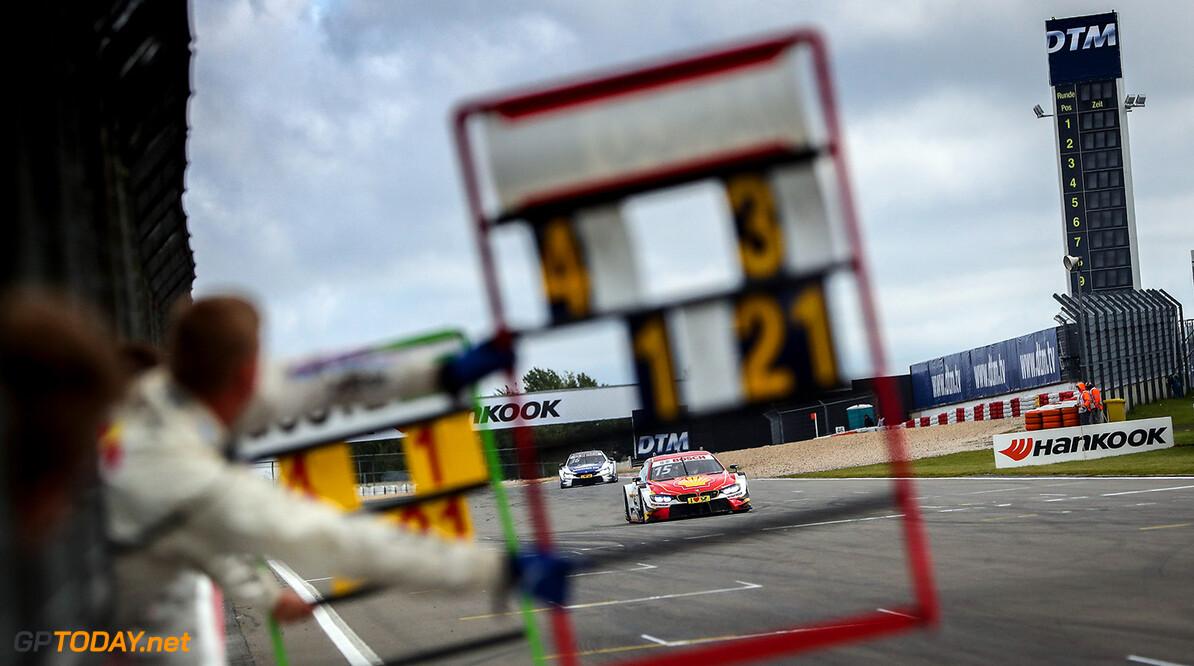 #15 Augusto Farfus, BMW M4 DTM Motorsports: DTM race Nuerburgring Gruppe C / Hoch Zwei N?rburgring Germany  Act Aktion action Boxentafel Fahraufnahme Fahrszene VersandPartnerDTM VersandPartnerStandard