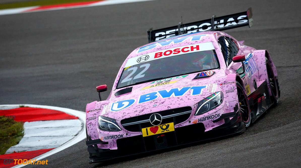 #22 Lucas Auer, Mercedes-AMG C 63 DTM Motorsports: DTM race Nuerburgring Gruppe C / Hoch Zwei N?rburgring Germany  Aktion action Fahraufnahme Fahrszene VersandPartnerDTM VersandPartnerStandard