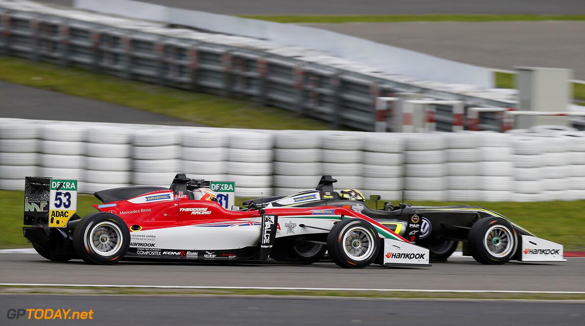 FIA Formula 3 European Championship, round 8, race 3, N?rburgri 53 Callum Ilott (GBR, Prema Powerteam, Dallara F317 - Mercedes-Benz), 31 Lando Norris (GBR, Carlin, Dallara F317 - Volkswagen), FIA Formula 3 European Championship, round 8, race 3, N?rburgring (DEU), 8. - 10. September 2017 FIA Formula 3 European Championship 2017, round 8, race 3, N?rburgring (DEU) Thomas Suer N?rburgring Germany