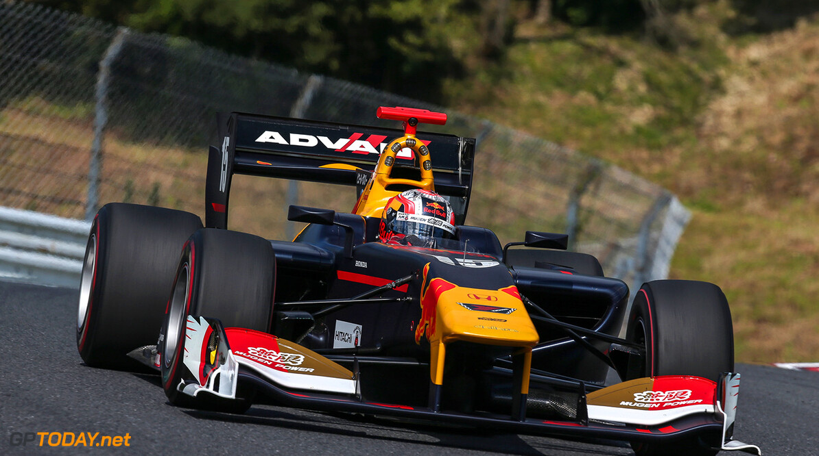 HITA, JAPAN, 08.SEP.17 - Japanese Super Formula Championship, Autopolis. Image shows Pierre Gasly (FRA). // Dutch Photo Agency/Red Bull Content Pool // P-20170910-00458 // Usage for editorial use only // Please go to www.redbullcontentpool.com for further information. //  Pierre Gasly  Hita Japan  P-20170910-00458
