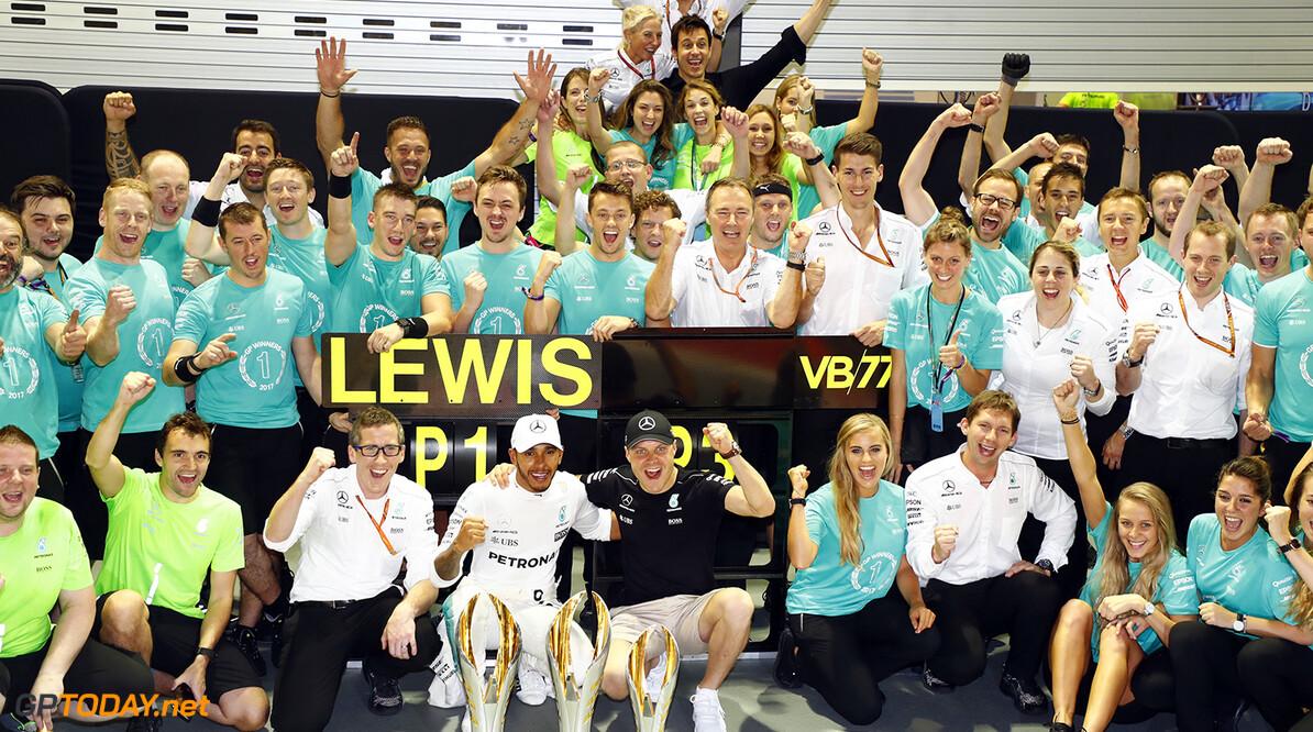 Fabrieksteam Mercedes oorverdovend succesverhaal